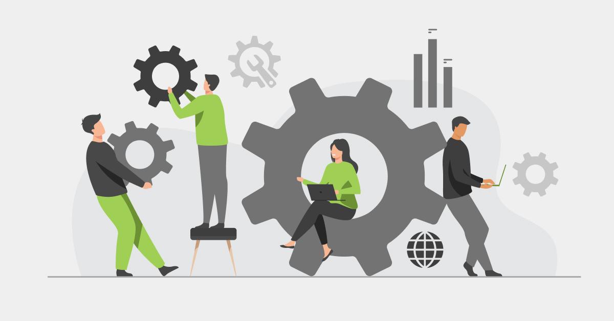 Employees training in IT